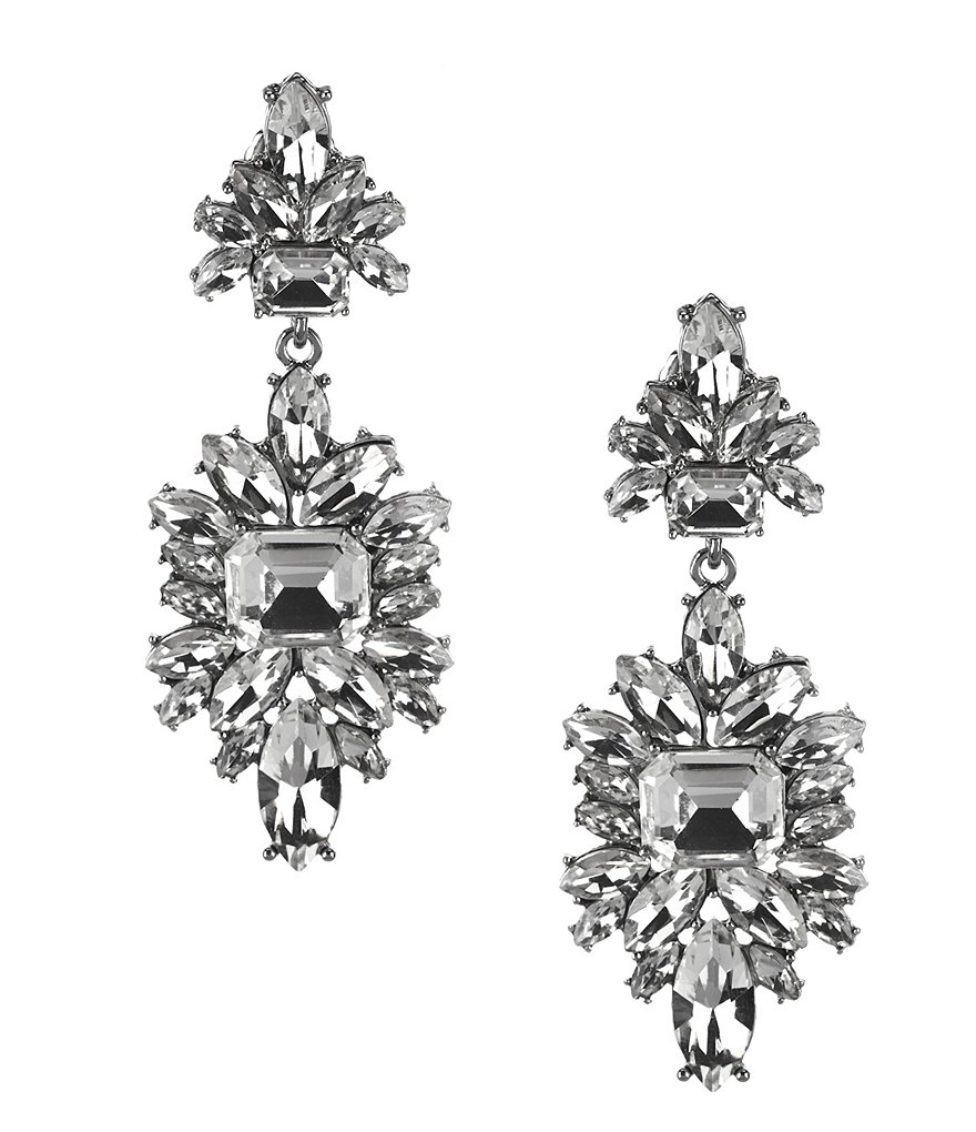 Gemma Layne Starburst Chandelier Earrings