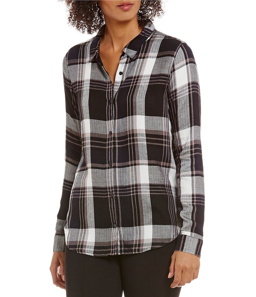 Gibson & Latimer Plaid Button-Up Shirt
