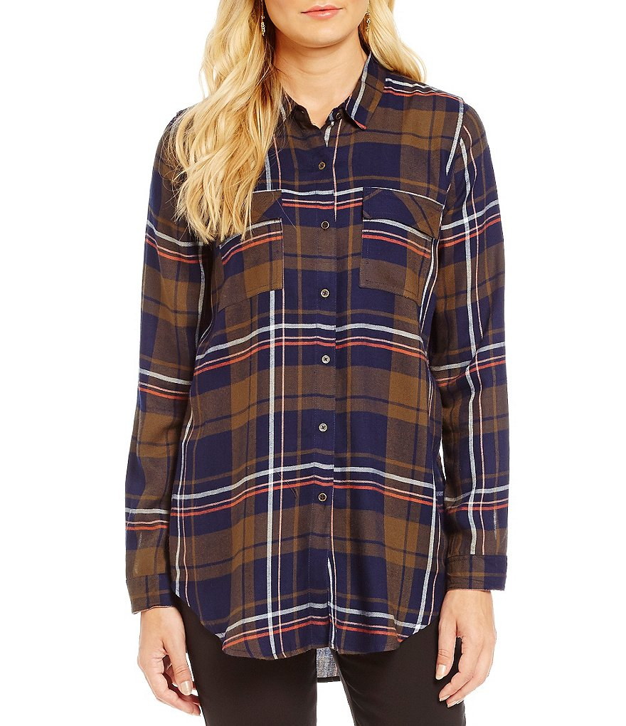 Gibson & Latimer Plaid Button-Up