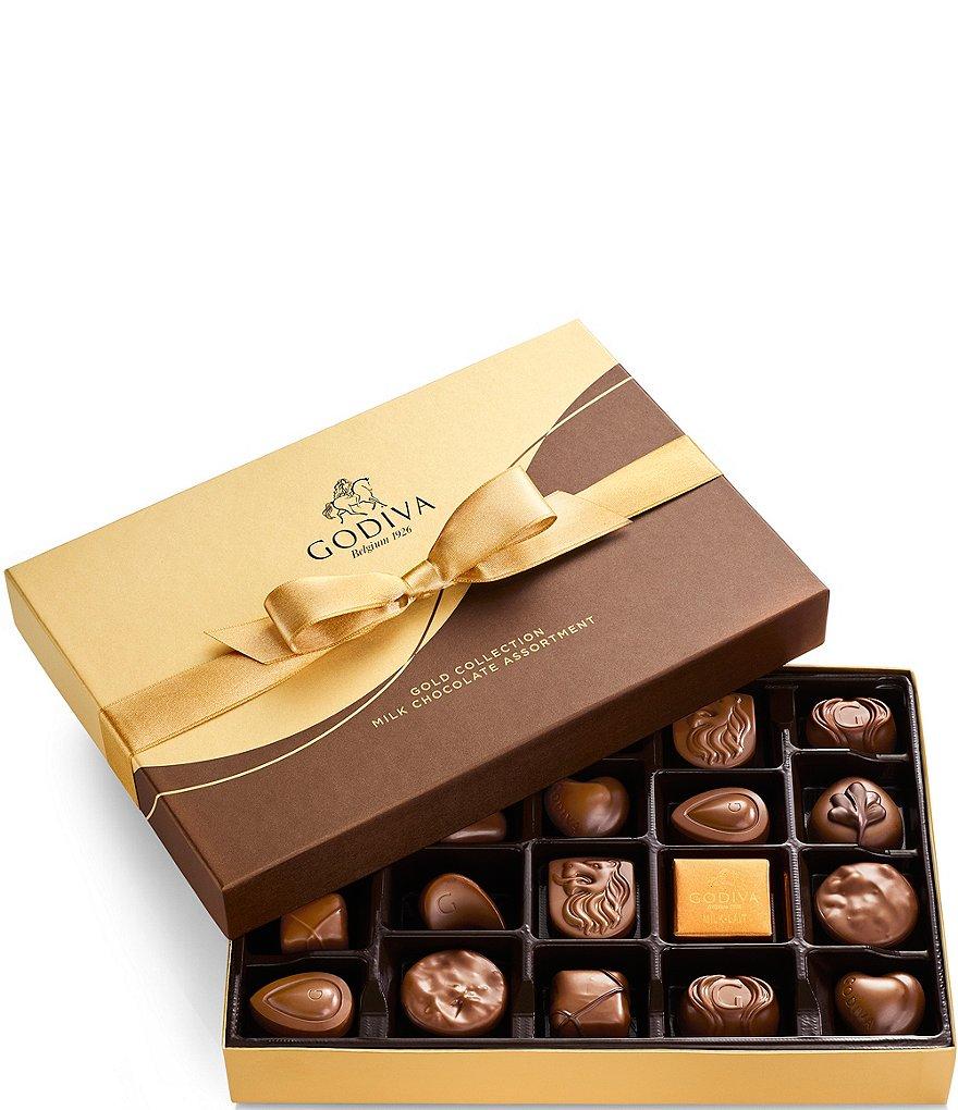 Godiva Chocolatier Milk Chocolate Gift Box Dillards