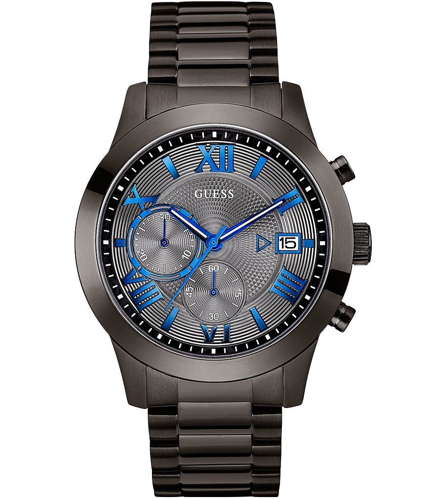 Guess IP Steel Chronograph Bracelet Watch
