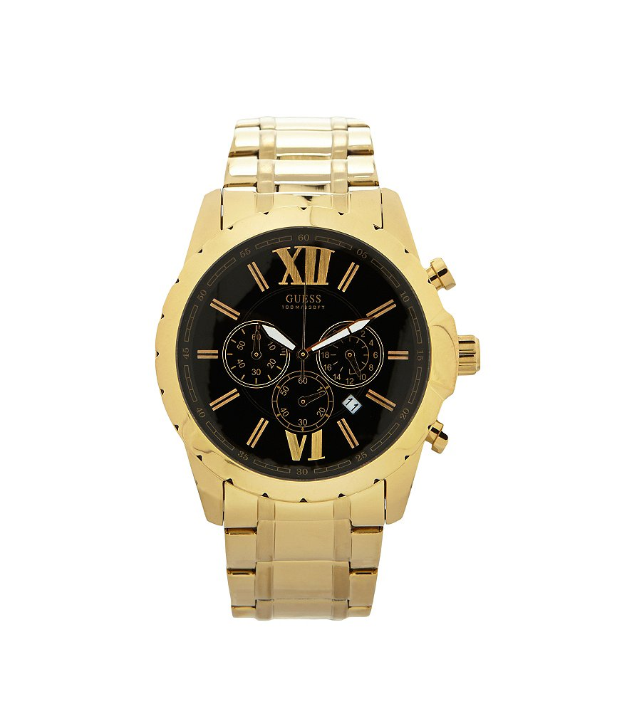 Guess Men´s Goldtone Chronograph Watch
