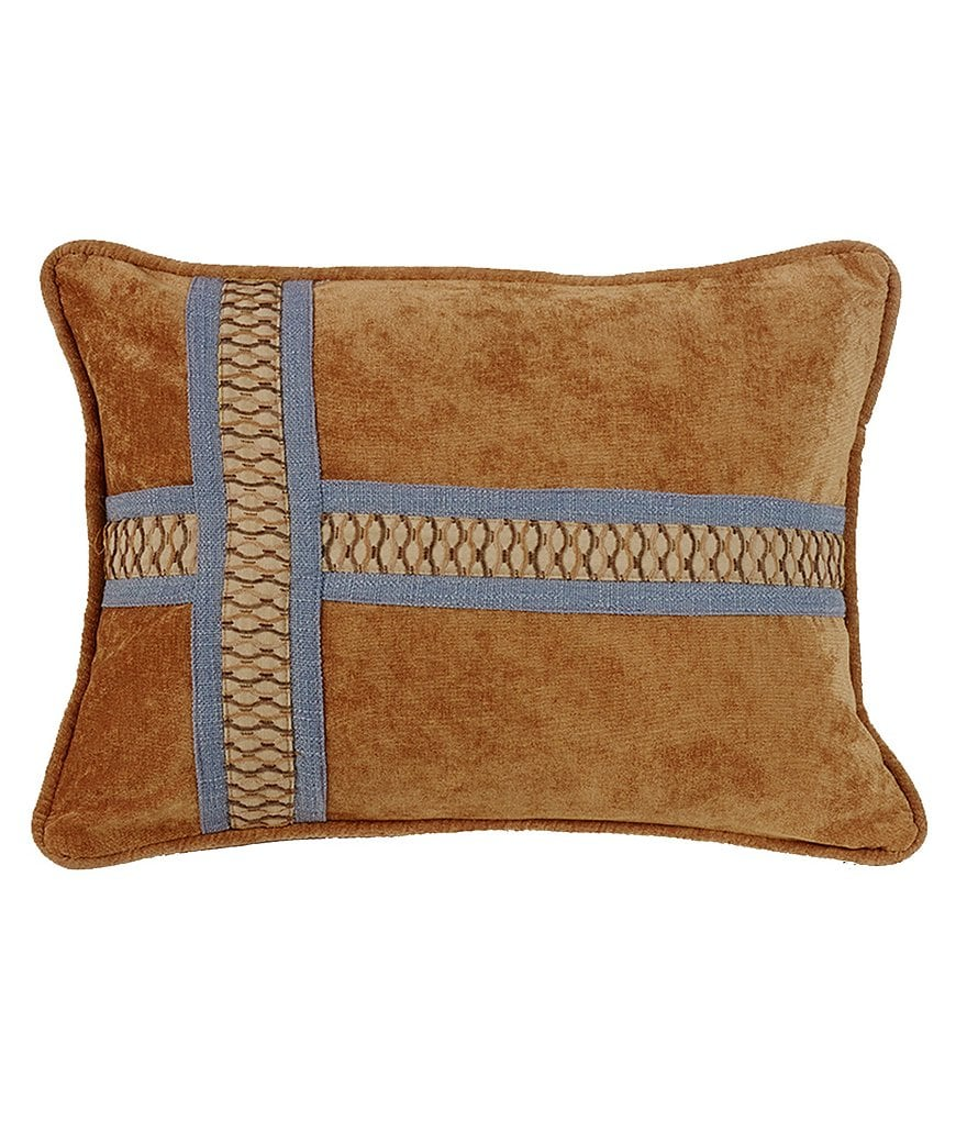 HiEnd Accents Lexington Cross Oblong Pillow