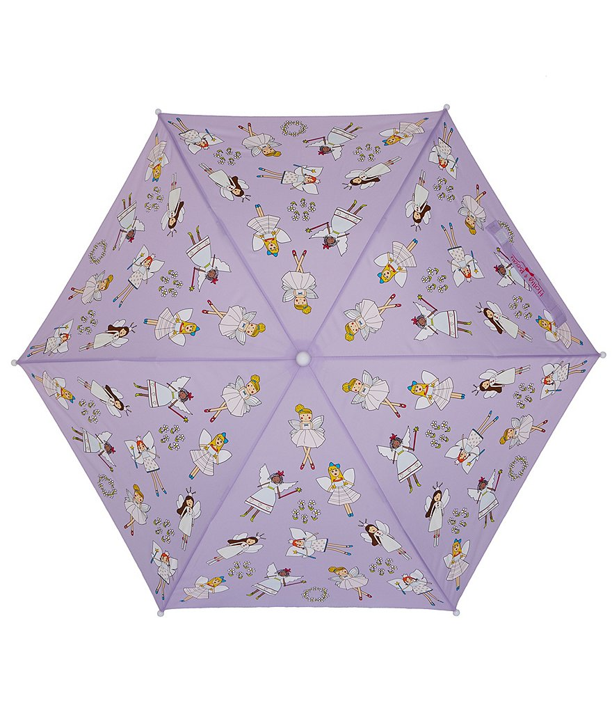Holly and Beau Fairy Color-Changing Kids' Umbrella