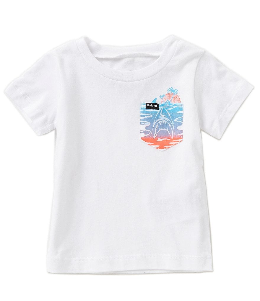 Hurley Baby Boys 12-24 Months Pocket Tee