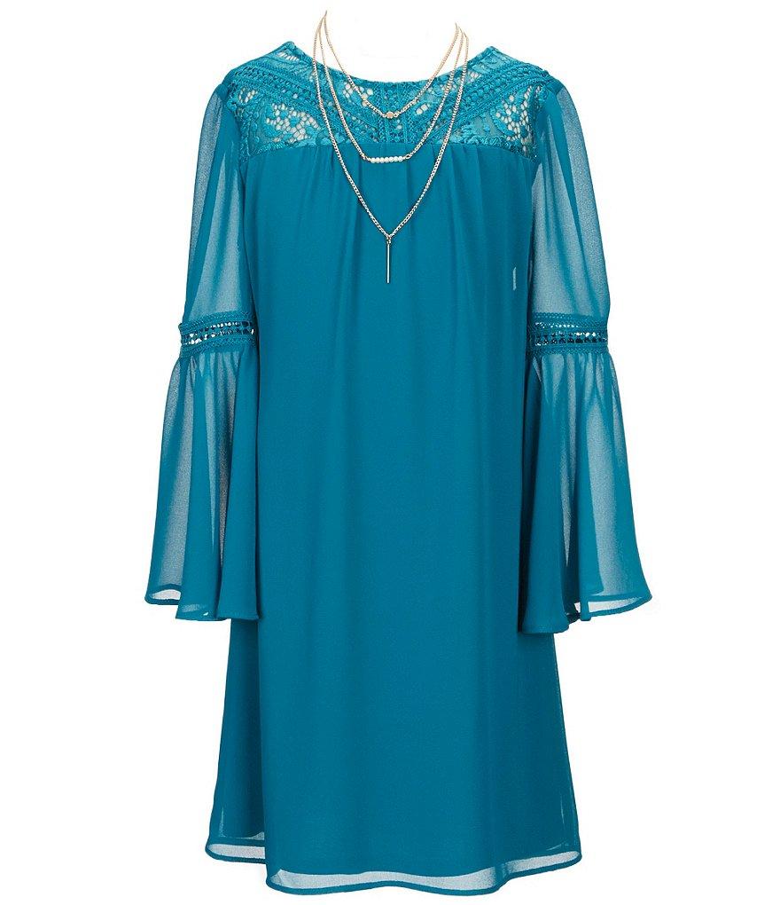 Amazoncom Big Girls 716  Casual  Dresses Clothing