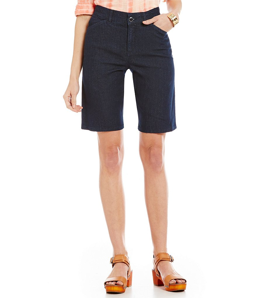 Intro Mia Denim Bermuda Shorts