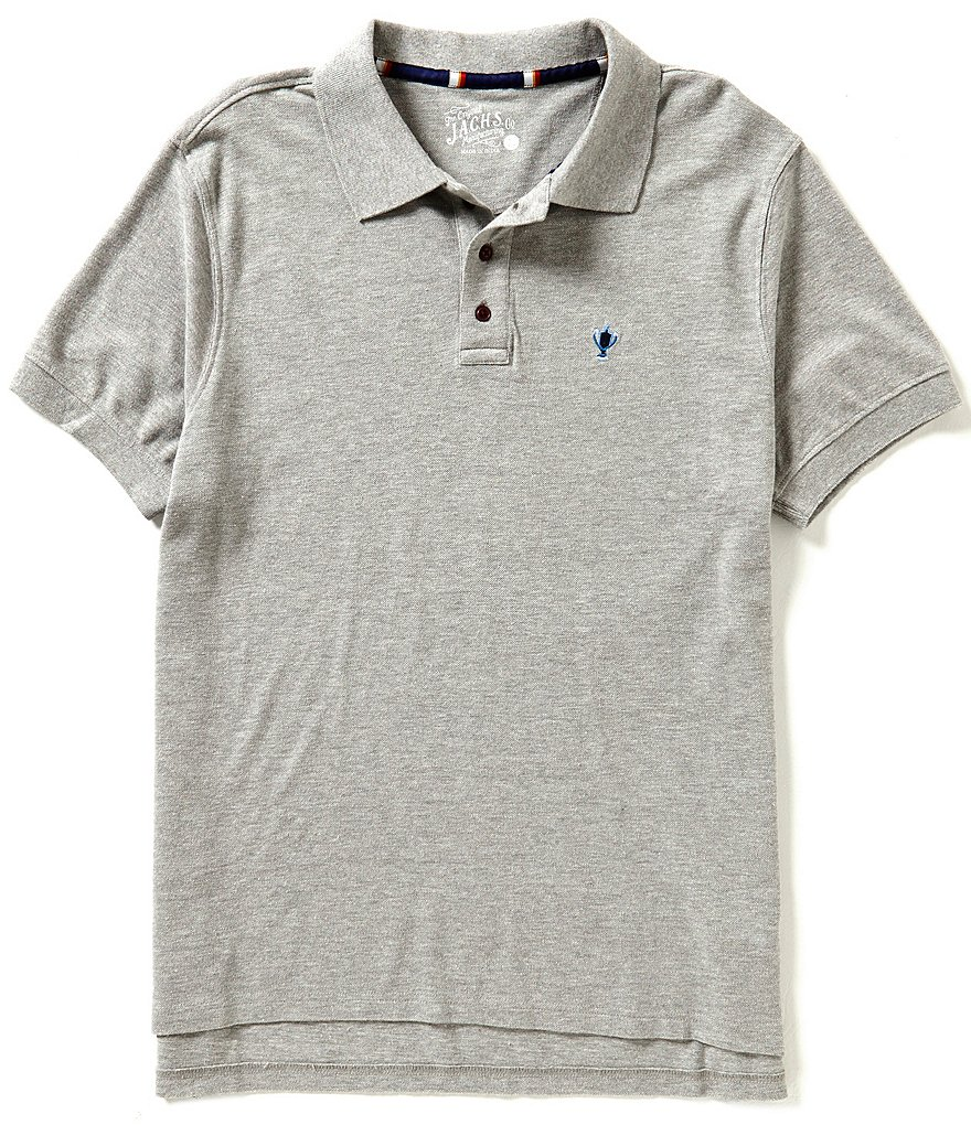 J.A.C.H.S. Manufacturing Co. Pique Solid Polo Shirt