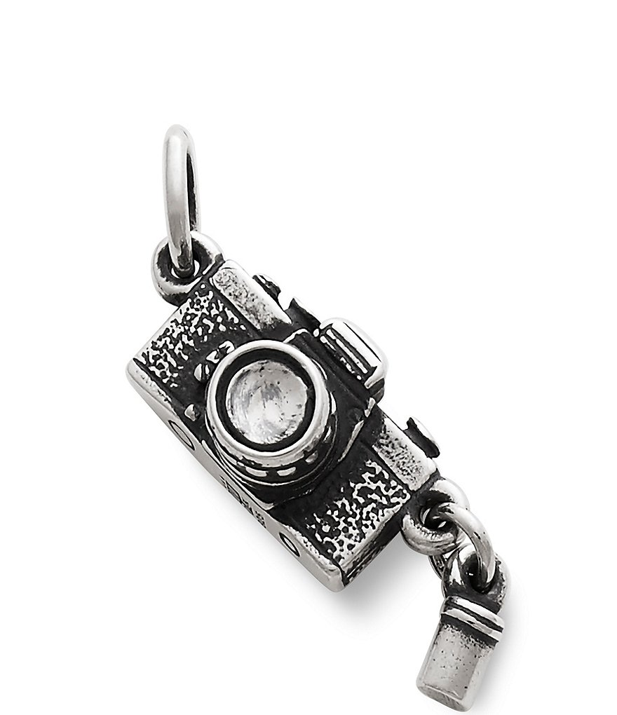 James Avery 35mm Camera and Canister Sterling Silver Charm