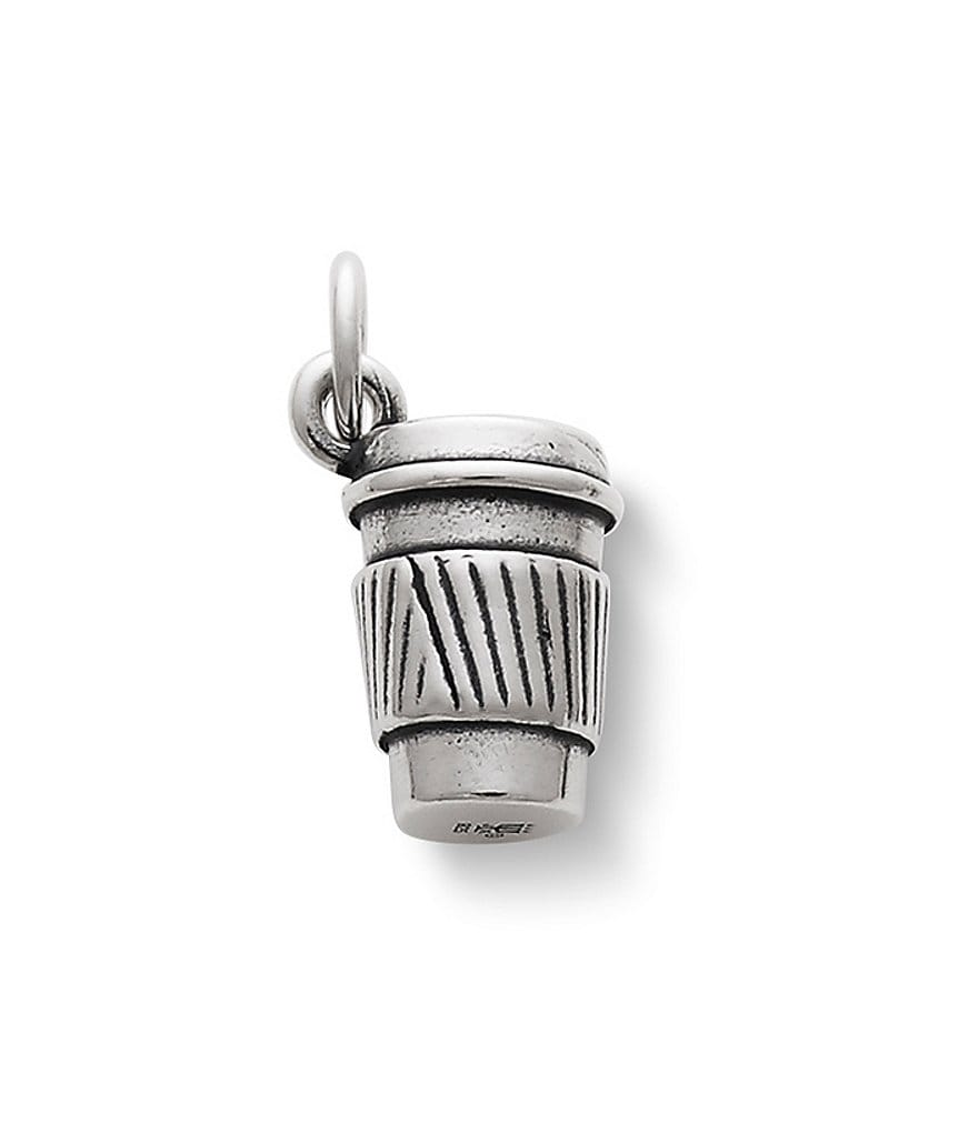 James Avery Coffee To Go Sterling Silver Charm