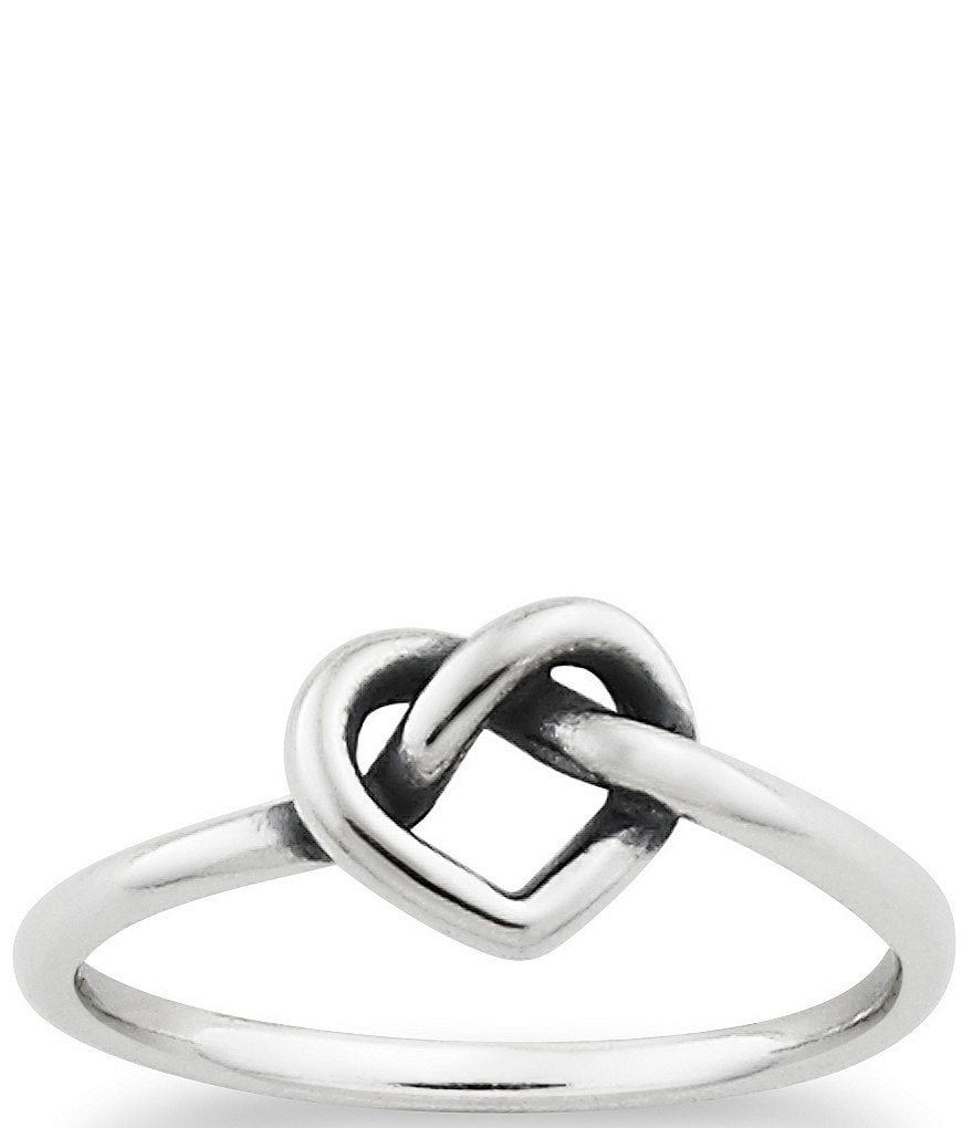 James Avery Delicate Heart Knot Ring