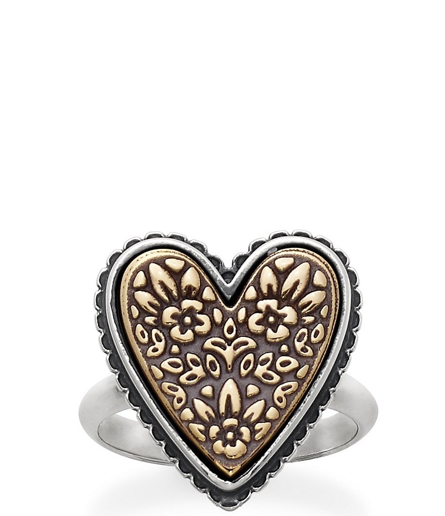 James Avery Heirloom Heart Ring