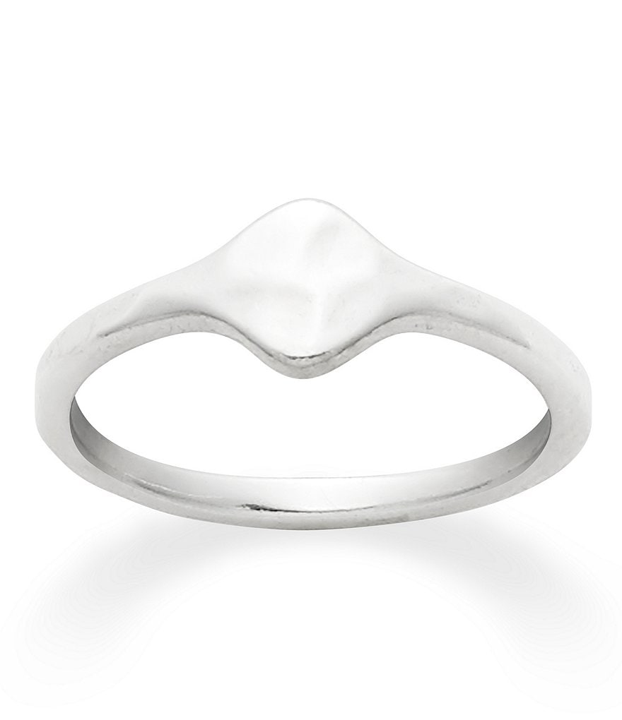 James Avery Petite Signet Initial Ring