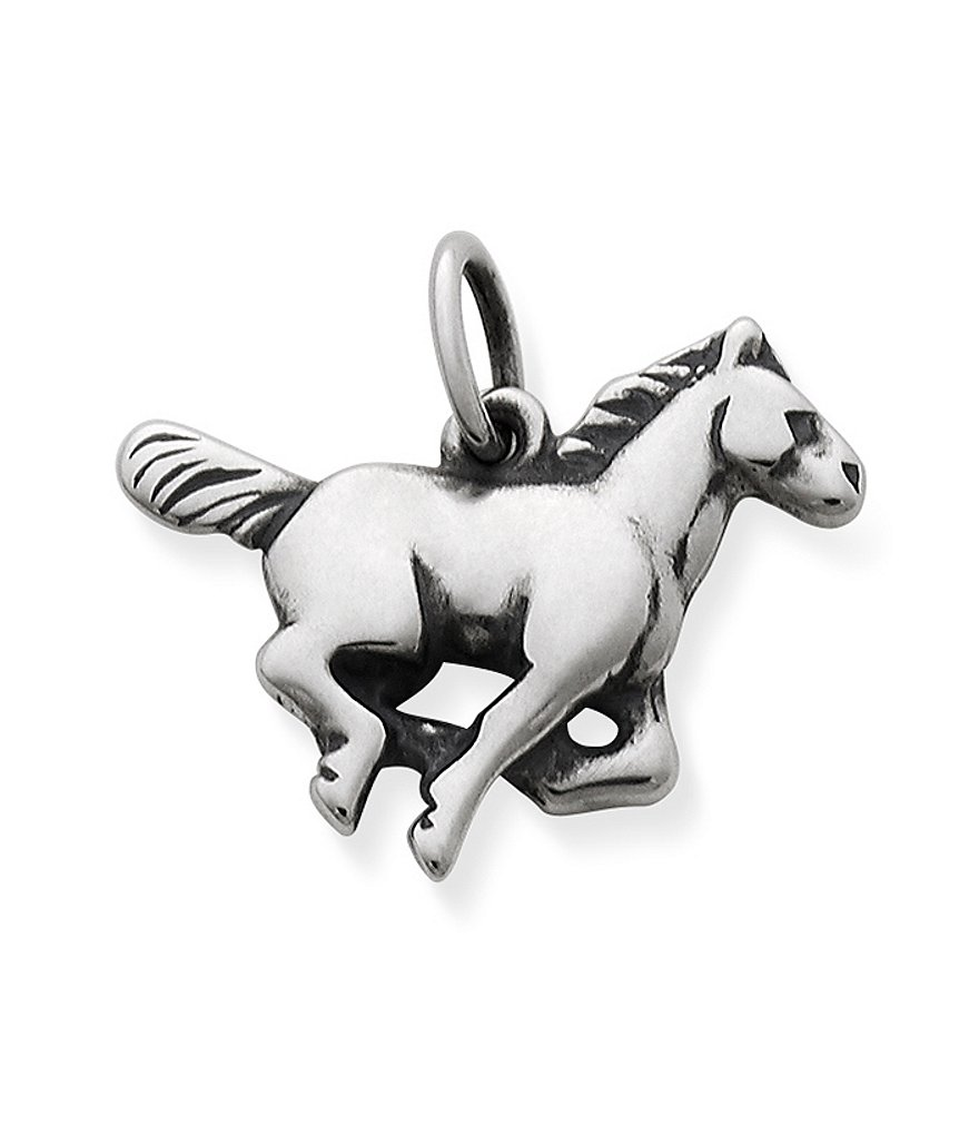 James Avery Running Horse Sterling Silver Charm