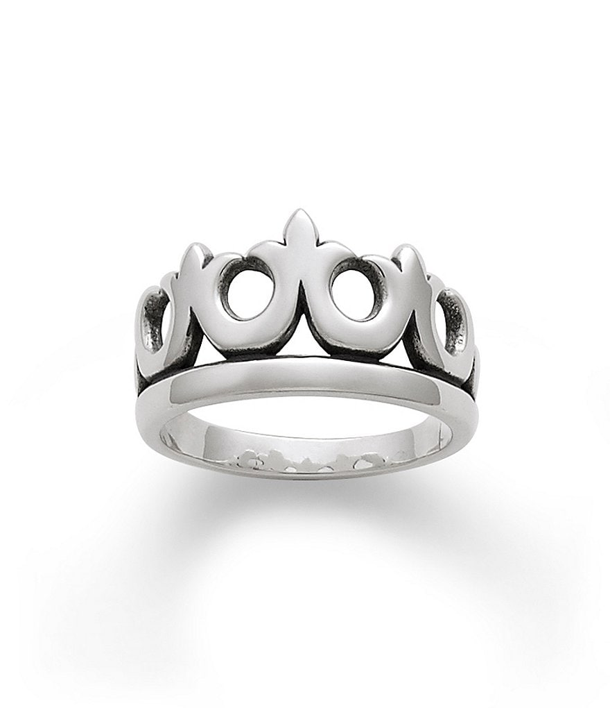 James Avery Sterling Silver Crown Ring