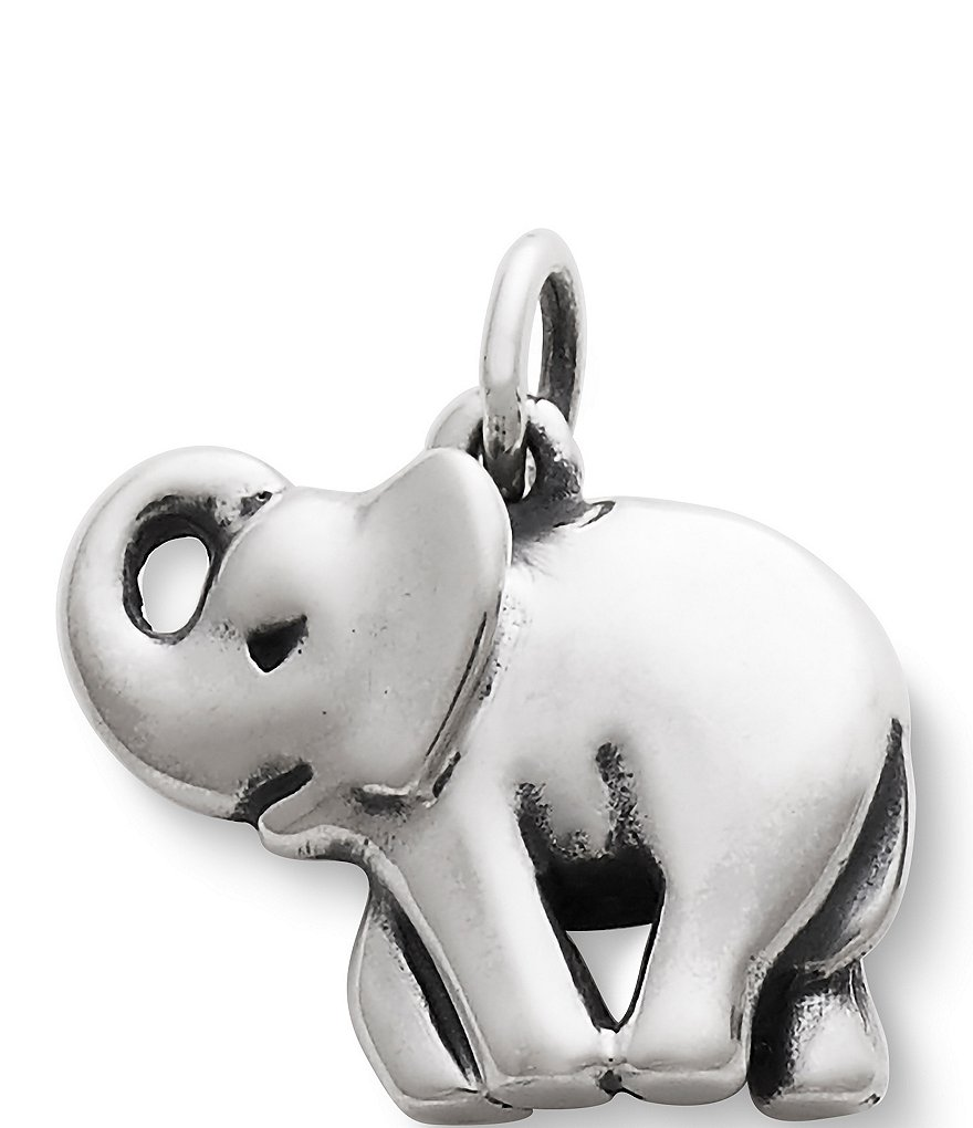 James Avery Sterling Silver Elephant Charm