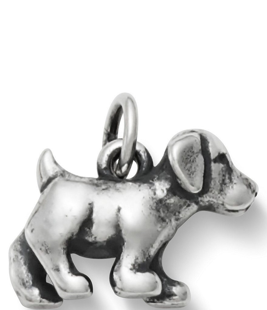 James Avery Sterling Silver Puppy Charm