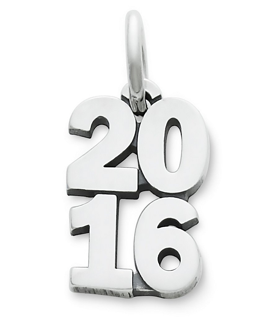 James Avery Sterling Silver Year 2016 Charm