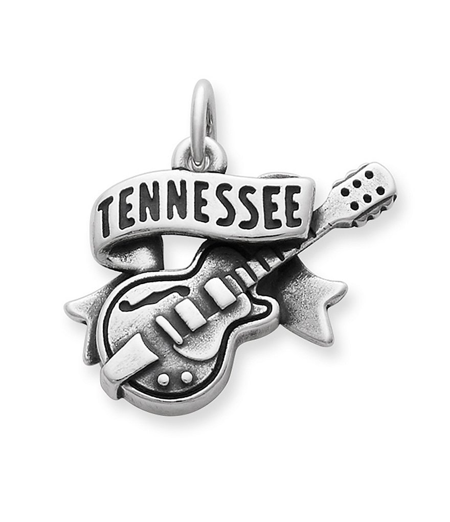 James Avery Tennessee Guitar Charm