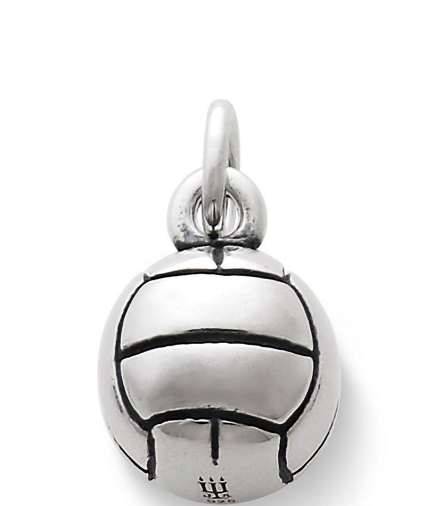 James Avery Volleyball Sterling Silver Charm