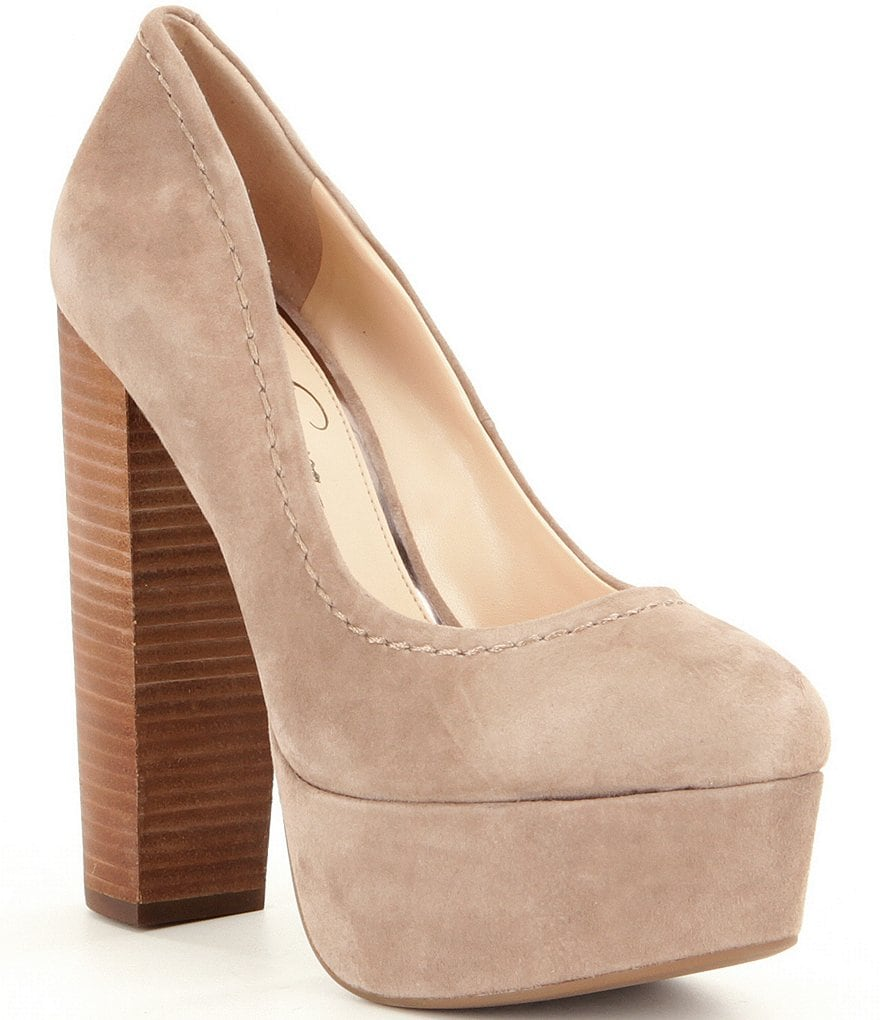 Jessica Simpson Capella Suede Pumps