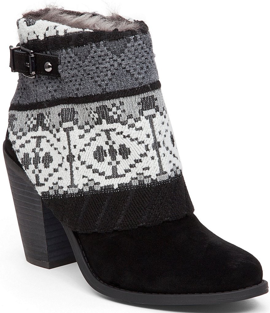 Jessica Simpson Cassley Tribal Hooded Booties