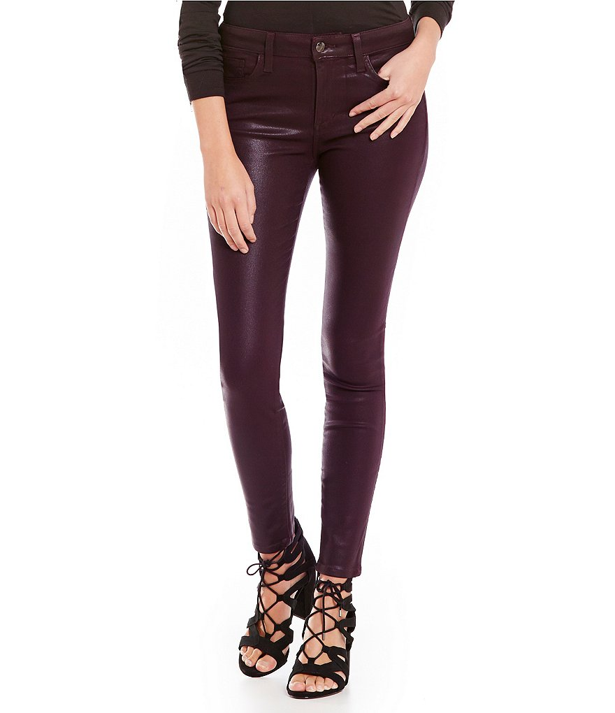 Joe´s Jeans Mid Rise Icon Skinny Ankle Coated Jeans