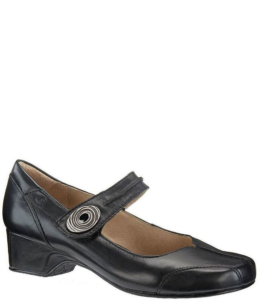 Cara Block Heel Mary Jane Loafers