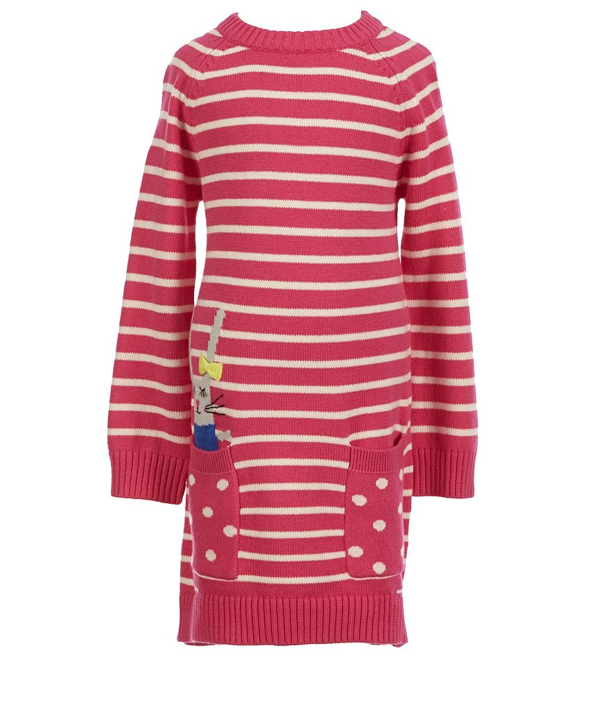 Joules Little Girls 3-6 Bunny Intarsia Dress