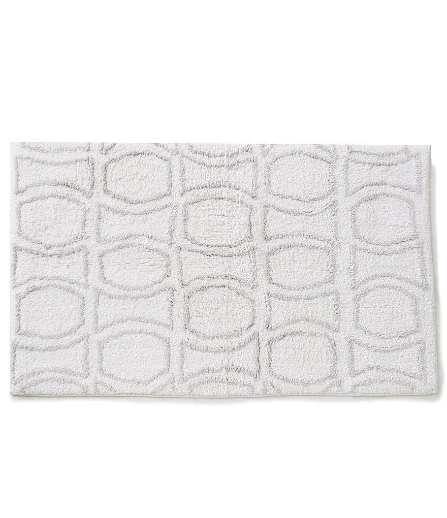 kate spade new york Bow Tile Bath Rug