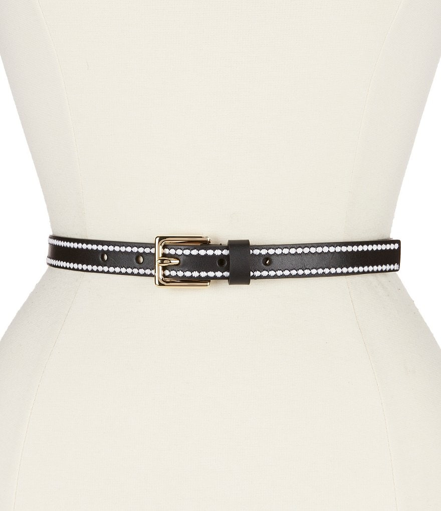 kate spade new york Embroidered Belt