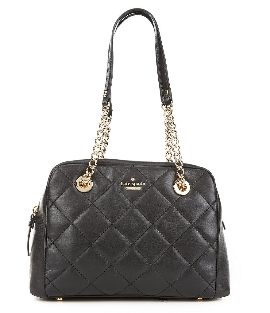 kate spade new york Emerson Place Collection Dewy Quilted Satchel