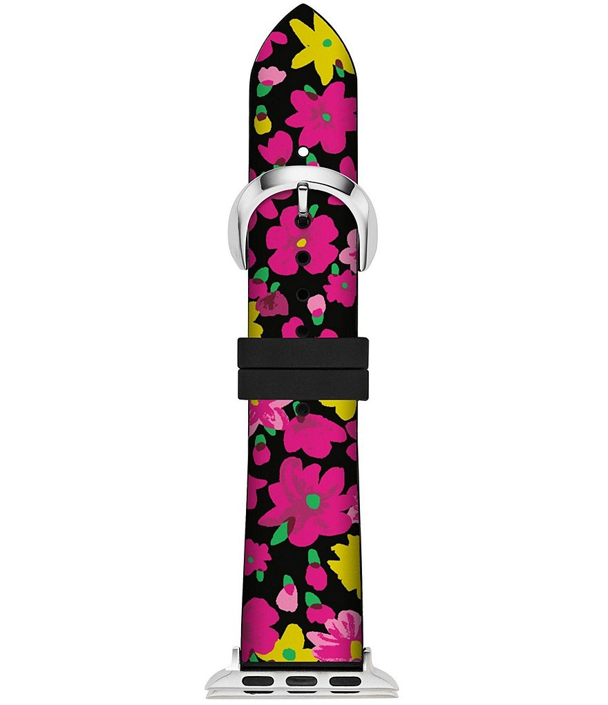 kate spade new york Floral Multicolor Silicone Apple Watch® Strap