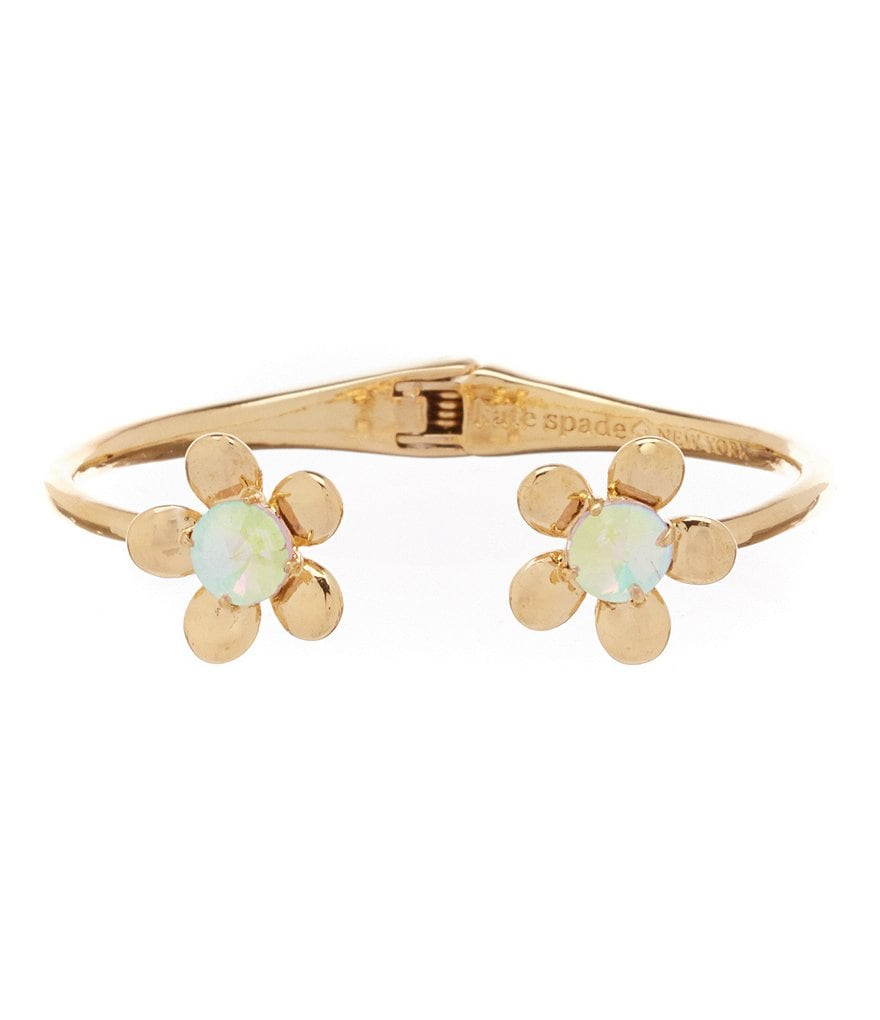 kate spade new york Flower Hinge Cuff Bracelet
