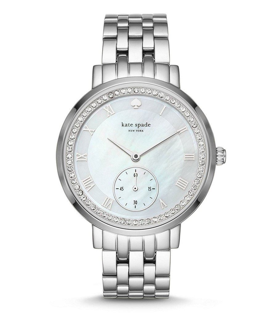 kate spade new york Monterey Mother-of-Pearl Analog Bracelet Watch