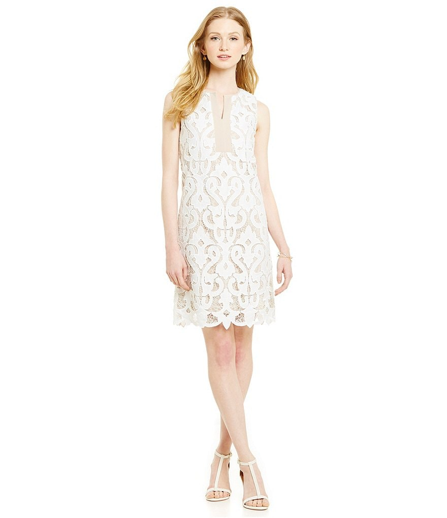 Katherine Kelly Isla Sleeveless Lace Dress
