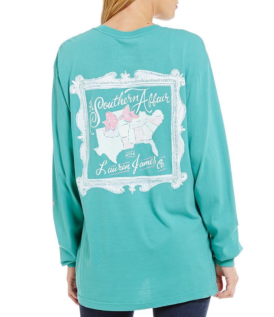 Lauren James A Southern Affair Long Sleeve Graphic Tee