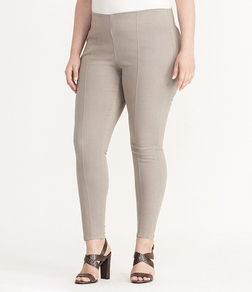 Lauren Ralph Lauren Plus Stretch-Denim Skinny Pant