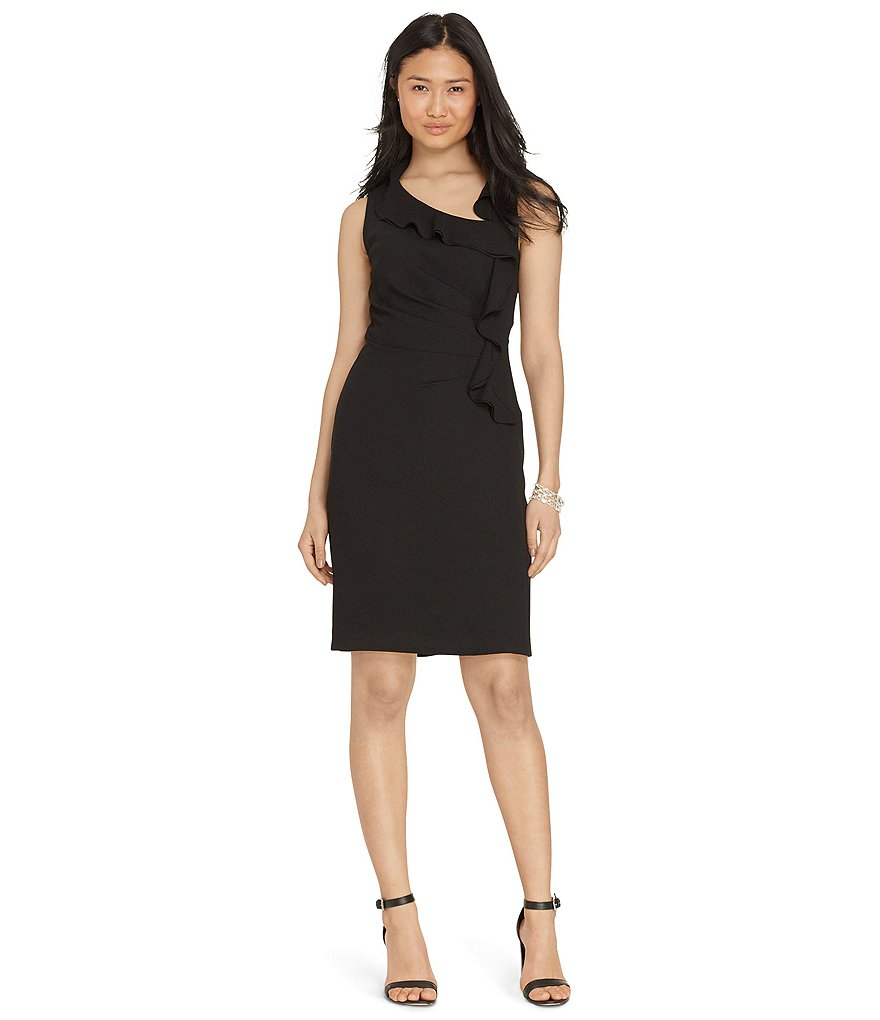 Lauren Ralph Lauren Ruffle Front Dress