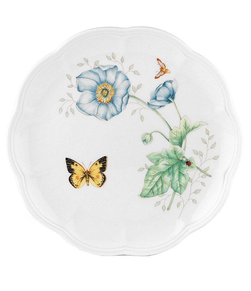 Lenox Butterfly Meadow Accent Salad Plate
