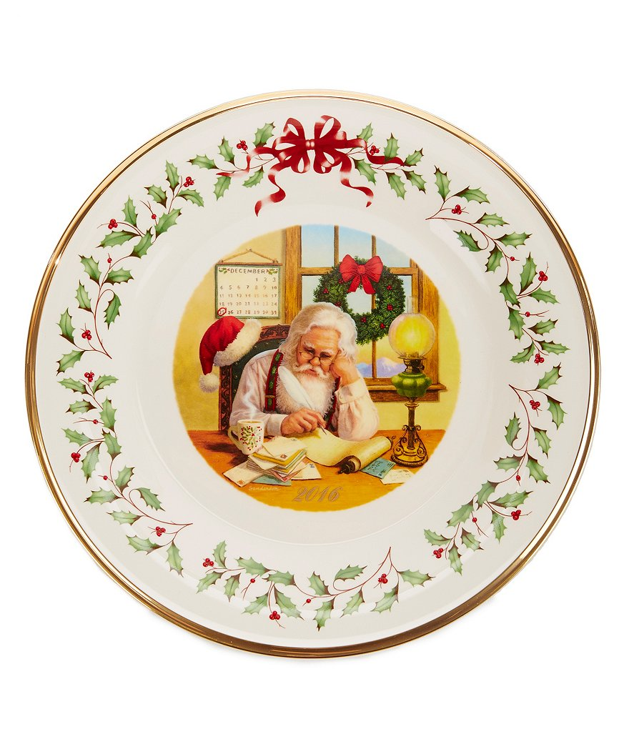 Lenox Holiday 26th-Edition 2016 Collector´s Plate
