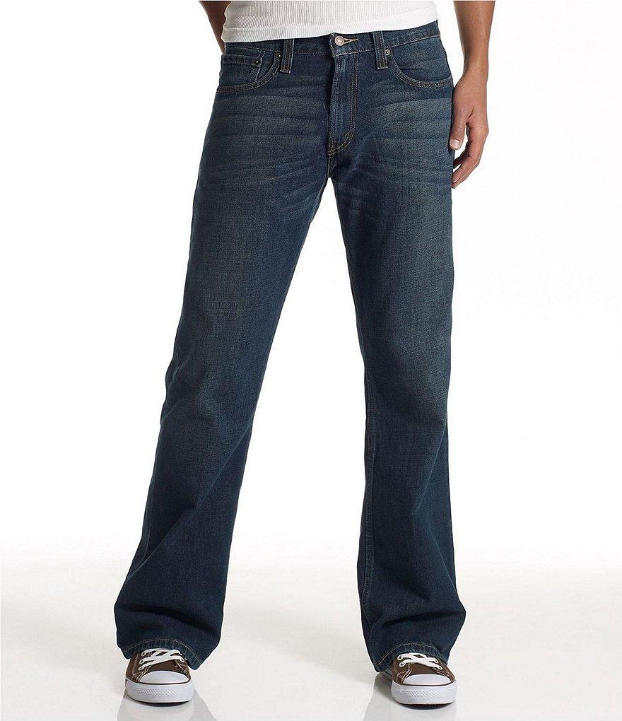 levi 39 s 527 slim bootcut jeans dillards. Black Bedroom Furniture Sets. Home Design Ideas