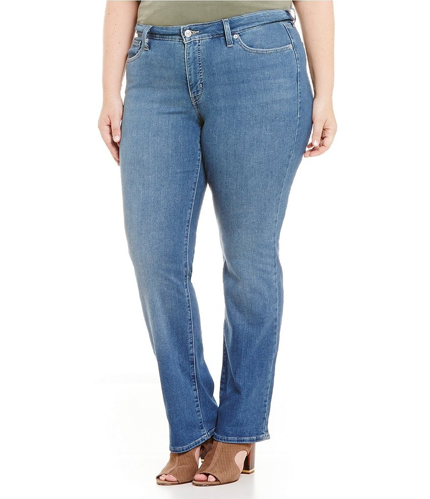 Levi´s® Plus 414 Relaxed Straight Leg Jeans