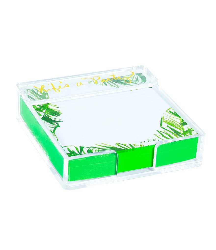 Lilly Pulitzer Note Holder with Loose Notes