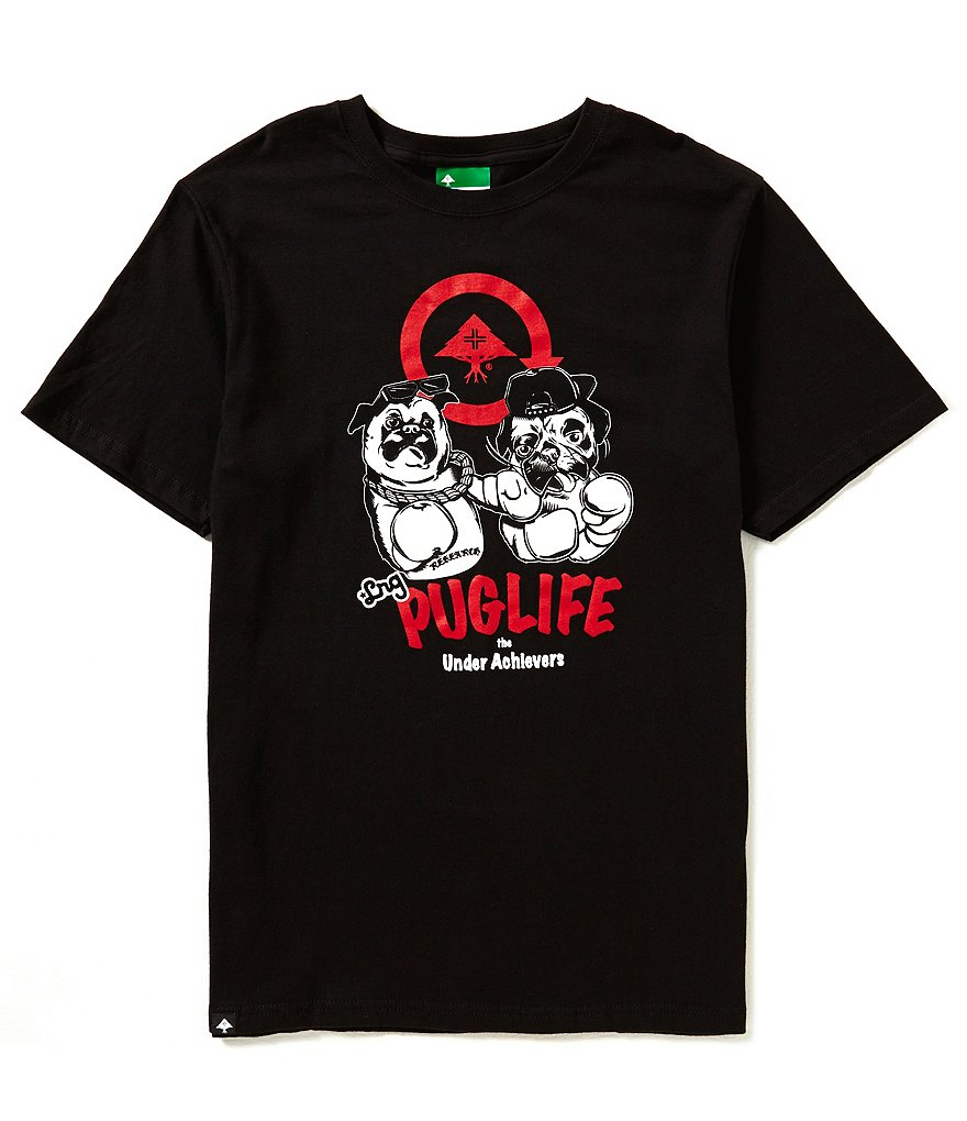 LRG Pug Life Short-Sleeve Graphic Tee