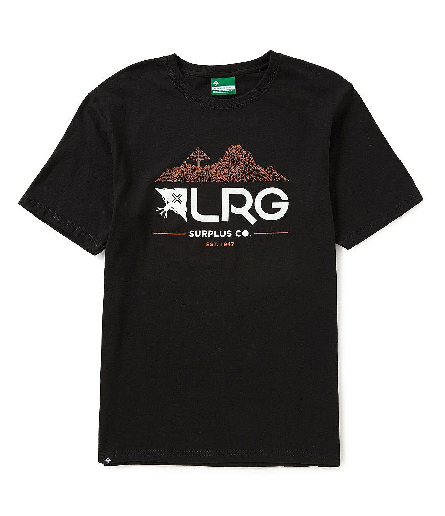 LRG Surplus Co. Short-Sleeve Jersey Graphic Tee
