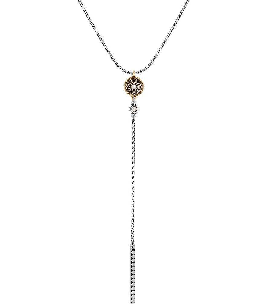 well-wreapped Lucky Brand Etched Y-Necklace Jewelry Women Accessories moVuQoYje