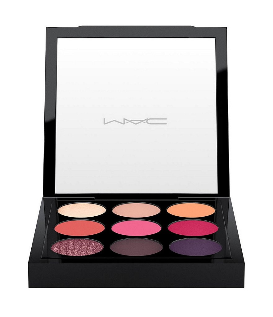 MAC Eye Shadow x 9: Red-Hot