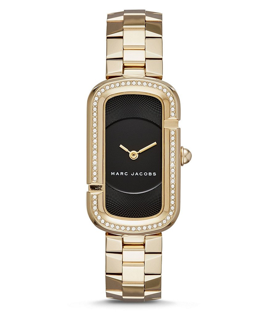 Marc Jacobs The Jacobs Rectangle Analog Bracelet Watch