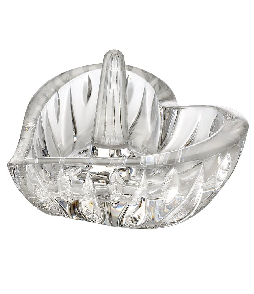 Marquis by Waterford Yours Truly Crystal Sheridan Heart Ring Holder